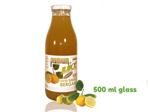 bergamotto 500 ml glass